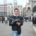 Hranimo golubove na Trgu Svetog Marka u Veneciji
