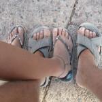 Prasnjave karate noge