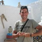 Sa kameleonom u berberskoj kuci
